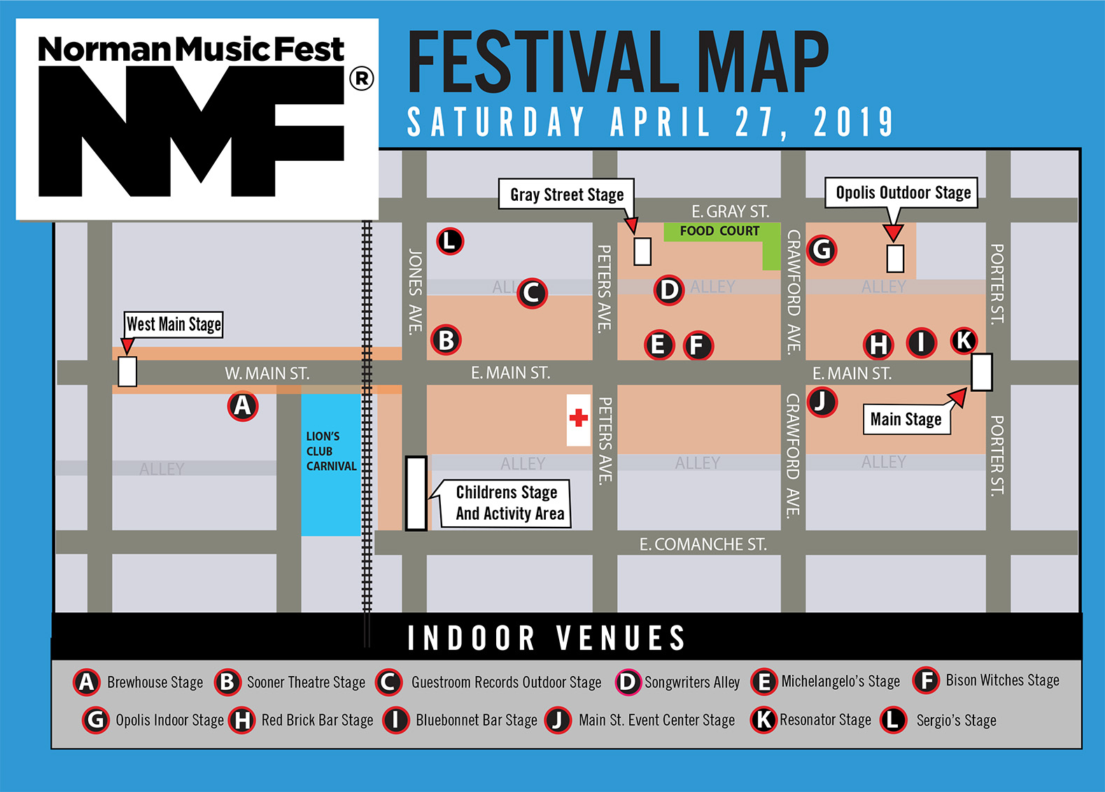 Norman Music Festival | Free. Original. Oklahoma. | Map ... on travel directions, mapquest directions, scale directions, compass directions, giving directions, traffic directions, get directions, driving directions,